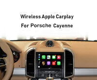 Wireless Apple Carplay Module Android auto For Porsche Cayenne 10-17 PCM 3.1