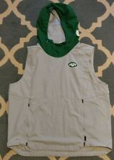 Nike OnField New York Jets Player Team Issued Game Used Worn Vest Hoodie Shield