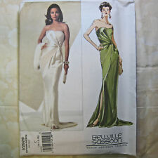 Vogue 2929 Bellville Sasson Fitted Formal Gown sz 10-14