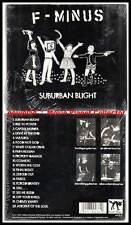"F-MINUS ""Suburban Blight"" (CD Digipack) 2001 NEUF"