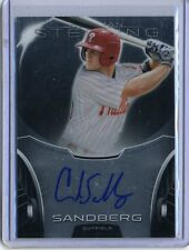 Cord Sandberg 2013 Topps Bowman Sterling Prospects 3rd Round Autograph Auto