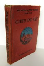 1937 VINTAGE EARTH AND SKY book by Edwards and Sherman Illustrated by Stevens