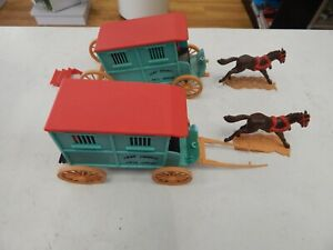 1/32 scale TIMPO TOYS Jail  Wagons - no box