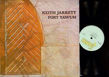 LP- Keith Jarrett – Fort Yawuh  //JAS 23 //UK 1973