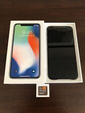 New Apple iPhone X 64GB Silver Factory Unlocked A1901 GSM World-Wide LTE
