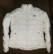The North Face Down Jacket Womens Sz Medium Puffer 700 Fill White