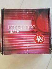 """DLS Reference W612 12"""" inch Car Audio Subwoofer Sub 210 Watts RMS"""
