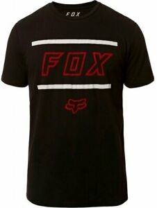 Fox Midway SS Airline Tee Black - Short Sleeve T-Shirt