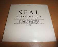 SEAL #1 hit single KISS FROM A ROSE 2 track CD from BATMAN FOREVER i'm alive ztt
