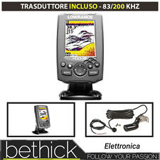 ECHOLOT - LOWRANCE HOOK 3X CHIRP MIT TRANSDUCER 83/200 kHz
