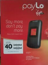 Samsung Entro SPH-M270 - Black - payLo by Virgin Mobile Cellular Phone