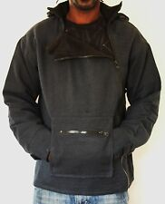 Jacke mit Kapuze m. Fleece gefüttert_hooded Jacket_Nepal; Goa, Dreadlocks