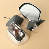Rearview Mirrors W/ Turn Signals Lens For Honda Goldwing GL1800 2001-2011 2010