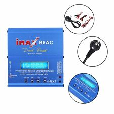 iMAX B6AC Dual Power Lipo NiMH RC Battery Balance Charger Discharger+EU Plug