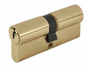 Yale PKM3550-PB Lock 35mm x 50mm Euro Profile Polished Brass