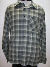 PLANET EARTH Mens Large L Button-up shirt Combine ship Discount Antigua