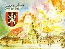 AK Dux Duchcova Waldstein Hospital und Kapelle Tschechien
