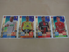 Match Attax 18/19 4x Club 100 Rodriguez, Max, Pavlenka, Bailey  2018/2019