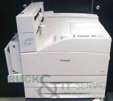 Lexmark w850dn 19z0315 a4/a3 impresoras láser S/W usado ~ 127.100 gedr. las páginas
