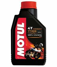 Motul 7100 4T Synthetic Ester Motorcycle engine Oil - 10W50 - 1L