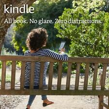 "Black Kindle E-Reader 6"" Glare Free Touchscreen Display Wi-Fi Books Reading New"