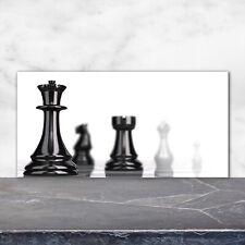 Küchenrückwand Spritzschutz aus Glas 120x60 Deko Sonstige Schachfigur