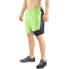 Virus Origin Stay Cool Flex Waistband Active Shorts - Lime/Black