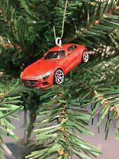 New Mercedes AMG GTR Beast Green Hell Christmas Ornament Gift G Wagon GT SLS S63