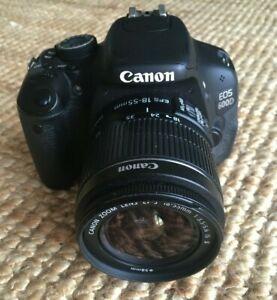 Canon EOS 600D Digital SLR Camera + 18-55mm IS Lens + Accessories