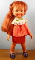 "Vntg. Ideal Crissy Family Growing Hair Doll/Cinnamon~12""~With Hair Doodler"