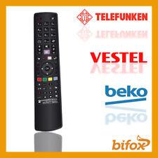 TELECOMANDO UNIVERSALE TELEFUNKEN VESTEL BEKO COMPATIBILE SMART TV PRONTO LCD 3D