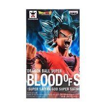Banpresto Dragon Ball Super Blood of Saiyans GOD Son GoKu statue figurine NEW