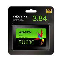ADATA SU630 3.84TB Internal 2.5 inch 4TB SATAIII 6GB/s Solid State Drive