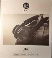 *NEW SEALED* Bang & Olufsen B&O Play H4 Wireless Over-Ear Headphones - Black