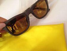 Gafas de sol, hecho En Italia Diseño Bonito Marco De Madera Efecto de madera de aspecto elegante,...