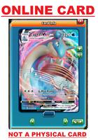 Lapras VMAX - 50/202 Sword & Shield Ultra Rare PTCGO ONLINE Pokemon Card