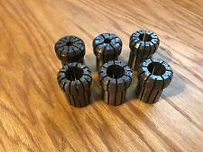 """Used Da-400 collet set (6) 5/16-25/32"""""""