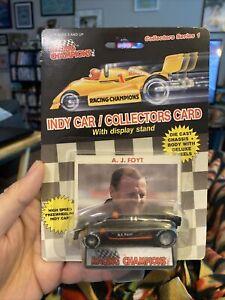 Racing Champions IndyCar A.J. Foyt #14 1:64 Scale Die Cast 1989