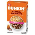 NEW POST DUNKIN' CARAMEL MACCHIATO FLAVORED CEREAL 17 OZ FREE WORLDWIDE SHIPPING