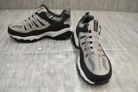 Skechers After Burn Memory Fit Wonted Athletic Shoe, Men's Size 7.5 4E, Gray NEW