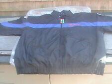 Snap on racing windbreaker lightweight jacket size XXL