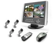 KIT DE VIDEOVIGILANCIA QUAD CON FUNCIÓN DE GRABACIÓN DIGITAL (DVR) AVIDSEN