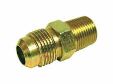 JMF  5/8 in. Flare   x 1/2 in. Dia. Male  Brass  Flare Adapter