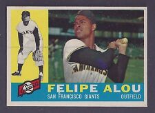 1960 Topps #287 Felipe Alou San Franciso Giants NM to NM Plus