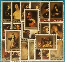 Russia (USSR) -1982-5 MNH 22 stamps.European Art.Hermitage collection