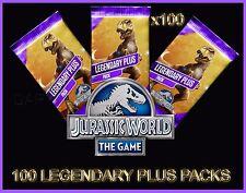 Jurassic WORLD The Game Builder 100 LEGENDARY PLUS PACKS Android iOS park