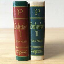 Del Prado Miniature Books - John Keats - Endymion Vol. 1 + 2