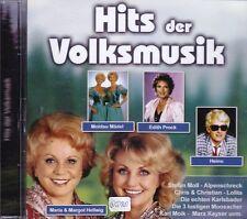 Hits der Volksmusik + CD + Tolles Album mit 16 starken volkstümlichen Liedern +