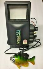 AQUA-VU UNDERWATER FISHING CAMERA w/FISH, WEIGHTS, CORD - BLACK & WHITE SCREEN