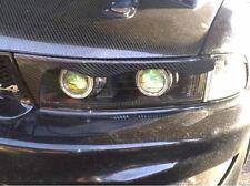 Carbon Fiber Headlight Eyebrows Eyelids Covers for 97-02 Mitsubishi Galant VR4